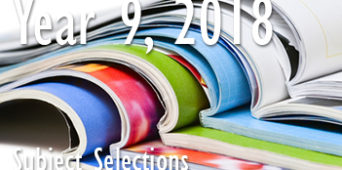 Year 9, 2018 Subject Selection