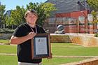 Jordan awarded for community commitment