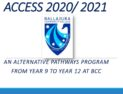ACCESS Alternative Pathways Program 2020
